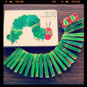 caterpillar_clothespins_craft