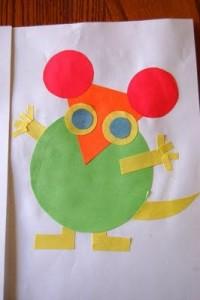 circle mouse craft