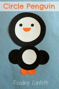 circle penguin craft