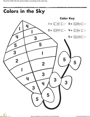 color-number-kite-colors-counting