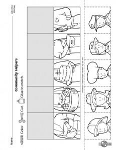community helpers cut-paste worksheet (11)