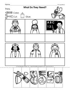 community helpers cut-paste worksheet (8)