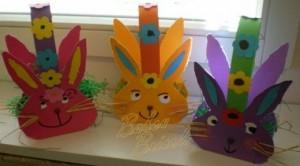 easter bunny basket craft (3)