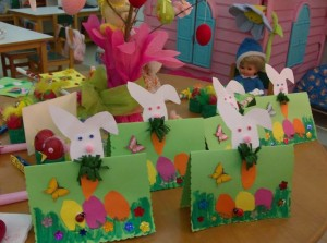 easter bunny card craft 5