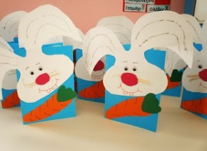 easter bunny card craft 8