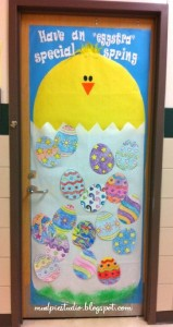 easter chick bulletin boards 1
