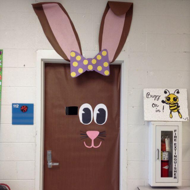 easter door decoration idea