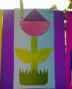 easy origami tulip craft