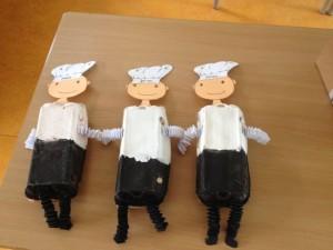 egg carton baker craft