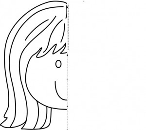 face  Symmetry Activity Coloring Pages