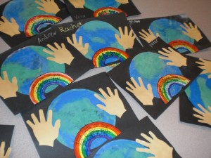 free Earth Day craft for kids (1)