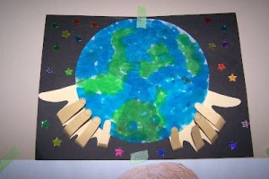 free Earth Day craft for kids (2)