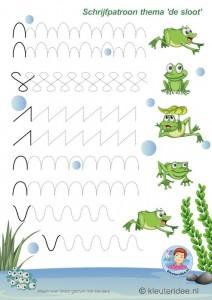 frog  trace worksheet