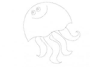 jelly fish trace