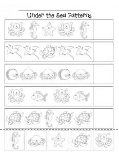 ocean animal worksheet (1)