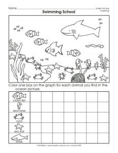ocean animal worksheet (2)