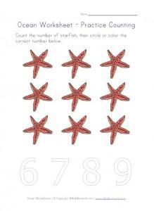 ocean counting 9