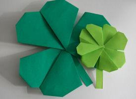 origami_shamrock_craft