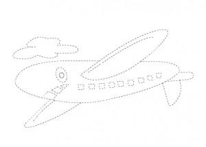plane trace
