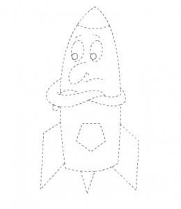 rocket trace