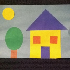 shape house craft