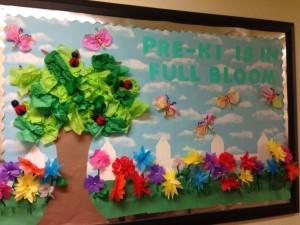 spring bulletin board 4