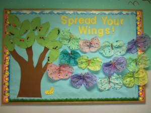 spring bulletin board 5