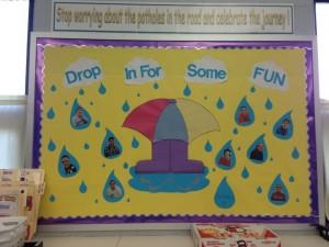 spring bulletin board 6