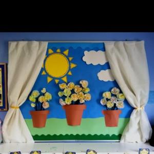spring bulletin board 8