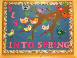 spring bulletin board craft