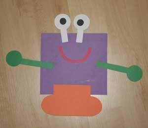 square shape monster