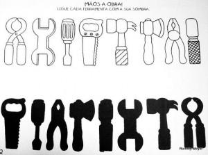 tools shadow worksheet
