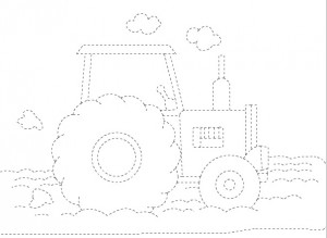 tractor trace