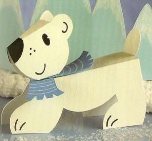3d bear craft