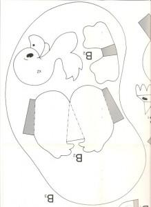3d duck template