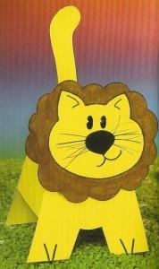 3d lion craft