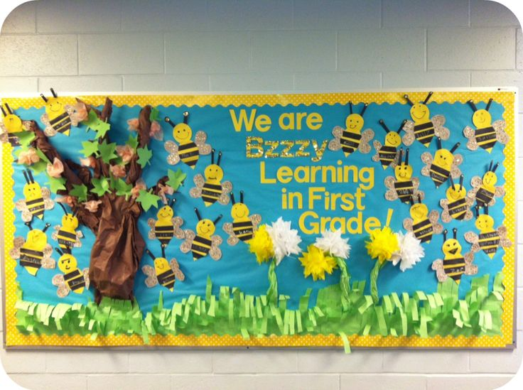 Bee bulletin board 2