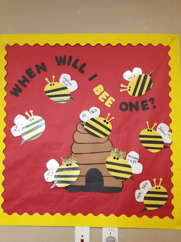 Bee bulletin board 3