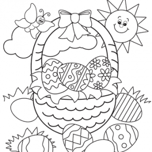Easter-Coloring-Page-Easter-Basket