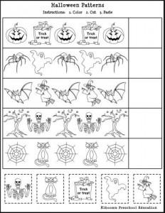 Free Printable Halloween Math Worksheet for Kids