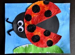 Ladybug Crafts for Preschoolers