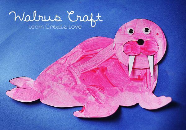 Printable Walrus Craft