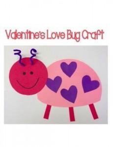 Valentine's Love Bug Craft
