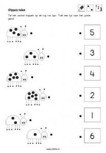 animal number count worksheet (1)