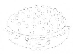 big mac bun trace worksheet