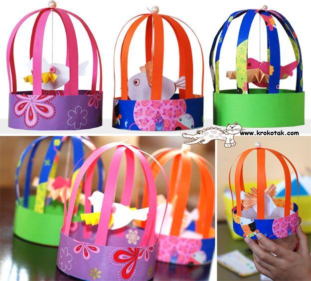 bird cage craft