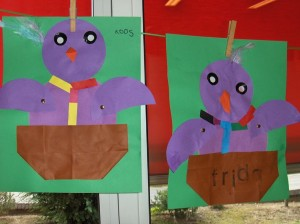 bird craft idea for kids