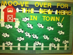 bulletin boards ideas farm animals