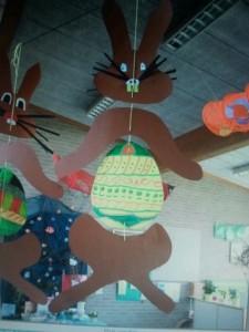 bunny mobile craft
