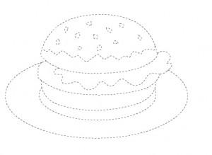 burger trace worksheet